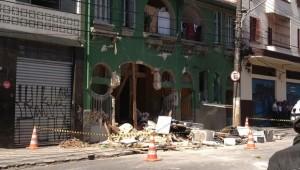Explosão fere 10 pessoas no centro de São Paulo