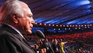 Michel Temer não vai à cerimônia de encerramento dos Jogos
