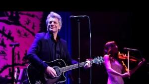 Bon Jovi diz estar cansado de cantar os mesmos hits