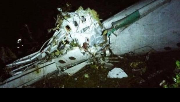 Avião com equipe da Chapecoense sofre acidente na Colômbia