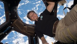 Astronauta norte-americana bate recorde