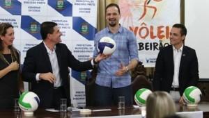 Time de vôlei de Ribeirão Preto será apresentado nesta terça-feira