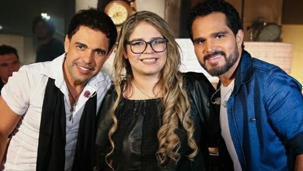 Marília Mendonça participa do DVD de Zezé Di Camargo e Luciano