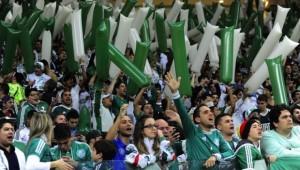 Palmeiras lidera ranking de público pagante