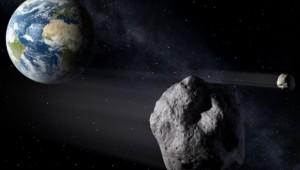 Asteroide gigante não detectado passa raspando pela Terra