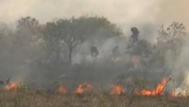 Aumenta o número de queimadas na região