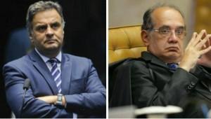 Polícia Federal aponta 43 ligações telefônicas entre Aécio e Gilmar Mendes