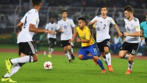 Brasil avança à semifinal do Mundial sub-17